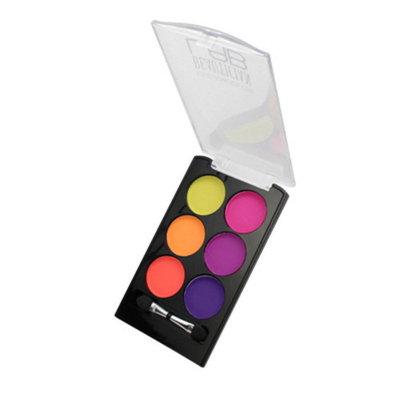 (6 Pack) KLEANCOLOR Beautician Lab Shimmer Shadow Pallete Tech