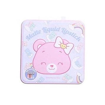 Care Bears Matte Liquid Lipstick - 4 lipsticks in a decorative tin