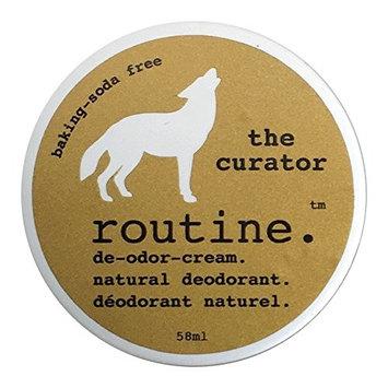 Routine De-Odor-Cream Handcrafted 50ml Natural Deodorant Cream (Curator, Sensitive Skin)