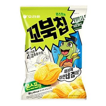 Korean Orion New Four Layers Turtle Chip Corn Soup Flavor
