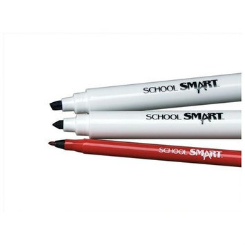 School Smart Watercolor Markers - Conical - Classroom Pack/400