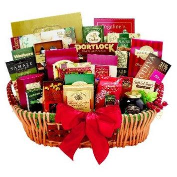 Alder Creek Gifts Gourmet Extravagance Gift Basket - 7lbs