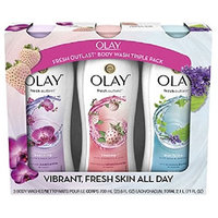 Olay Fresh Outlast Body Wash (23.6 fl. oz., 3 pk.)