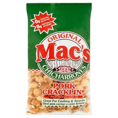 Mac's Original Chicharrones Pork Cracklins