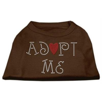Ahi Adopt Me Rhinestone Shirt Brown XL (16)