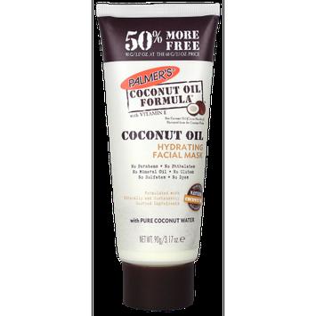 E.t. Brown Drug Co., Inc. Palmer's ® Coconut Oil Formulaâ ¢ with Vitamin E Hydrating Facial Mask/ 3.17 oz.