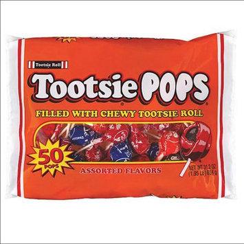 Tootsie Pops Assorted Flavors Pops, 31.2 oz