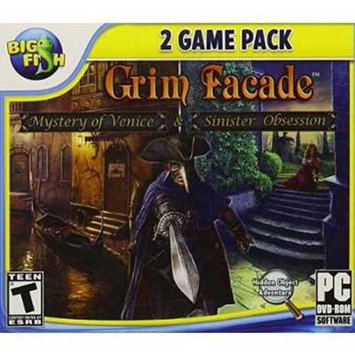 Activision 047875334359 Grim Facade Dual Pack: Mystery of Venice and Sinister Obsession for PC