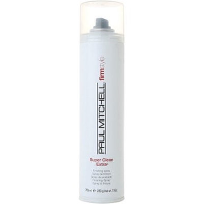 Paul Mitchell Super Clean Extra Firm Hold Finishing Spray 10 Oz
