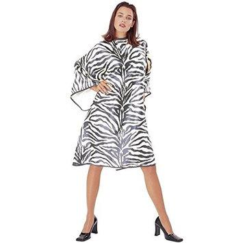 Cricket Zebra Cape, Black/White