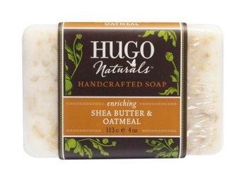 Hugo Naturals Bar Soap, Shea Butter and Oatmeal, 4-Ounce by Hugo Naturals