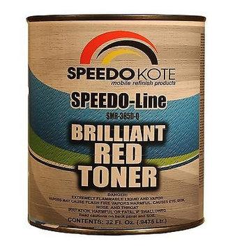 Speedokote 850 BRILLIANT RED Toner, quart SMR-3850-Q, Bright Red