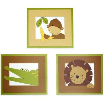 Bedtime Originals Baby Zoo Wall DEcor - brown
