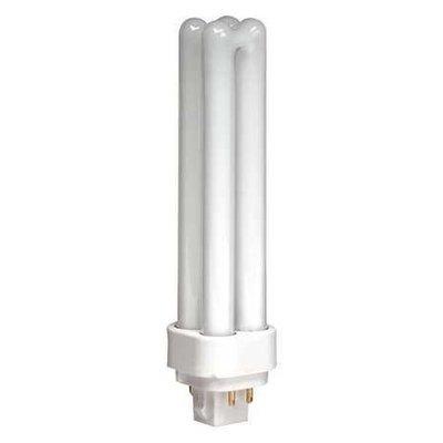 Lumapro Plug-In CFL,13W,T4 PL, Cool,900 lm,4100K Model: 35ZU48