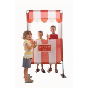 Creative Interchangeable Puppet Theater, Lemondade Stand and Photo Booth and Gumball Toss
