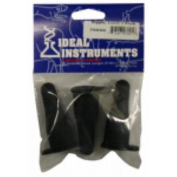 Black Gum Rubber Lamb Nipple Will Fit Most Standard Soda Bottle 2PK