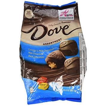 Dove Assortment, Caramel, Milk Chocolate, Dark Chocolate 35 Ounce