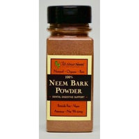 Neem Bark Powder 5 oz Shaker Bottle Fresh Cut, Slow Dried Under Shade - For Dental & Digestion & Supports Healthy Gums,Teeth Skin & Digestive Tract - For Dogs & People! America's Choice