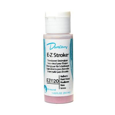 Duncan E-Z Stroke Translucent Underglaze mulberry, 1 oz. [pack of 4]