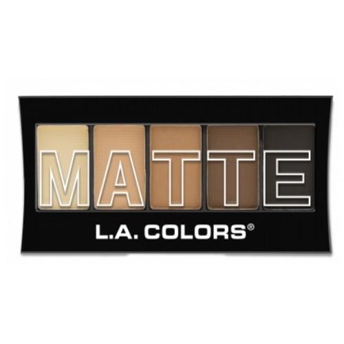 (3 Pack) L.A. Colors Matte Eyeshadow - Brown Tweed