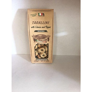 Tarallini (Cheese and Pepper) 6 Pack