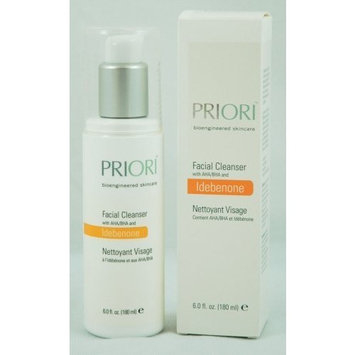 Priori Idebenone Complex Superceuticals Facial Cleanser, 6 Fluid Ounce