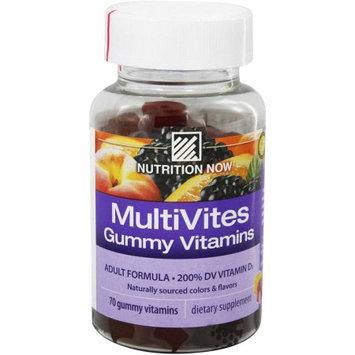 Nutrition Now Vitamin Multi Gummy Berry Lemon Or, 70TB