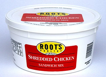 Roots Poultry Shredded Chicken