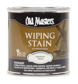 Old Masters 15216 Hp Espresso Wiping Stain