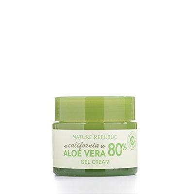 Nature Republic California Aloe Vera 80% Gel Cream, 50 Gram