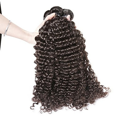8A Hair Extension Cambodian Virgin Remy Human Hair Bundles Deals Deep Wave Curly Weave 3pcs/lot 300gram Natural Colour 16