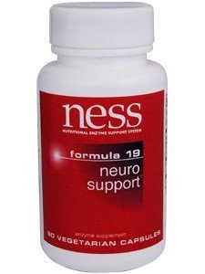 Ness Enzyme's Neuro Support #19 90 vcaps by Ness Enzymes