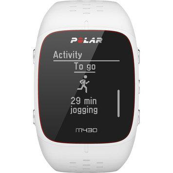 Polar M430 GPS Running White Waterproof Watch w/ Optical Heart Rate Measurement Smart Notifications