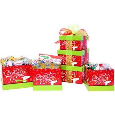 Candy Crate Sweet Gourmet Holiday Tower of Treats