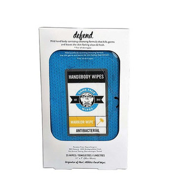 Game Face Wipes Facial Wipes - Warrior Wipe