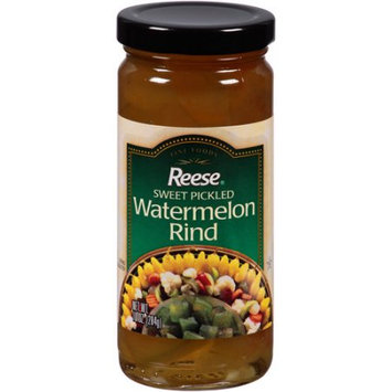 Reese Products Reese Sweet Pickled Watermelon Rind, 10 oz, (Pack of 12)