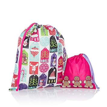Thirty One Timeless Memory Pouches in Hello Holiday - No Monogram - 3885