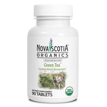 Nova Scotia Organics Green Tea Tablets, 90 Ct