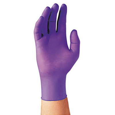 PURPLE NITRILE Exam Gloves KIM55083
