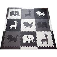 SoftTiles Safari Animals Kids Foam Playmats w/Sloped Edges Large Foam Mats- 2' Floor Tiles 78