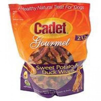 Ims Trading Corporation Sweet Potato And Duck Wraps Size: 28 Ounce.