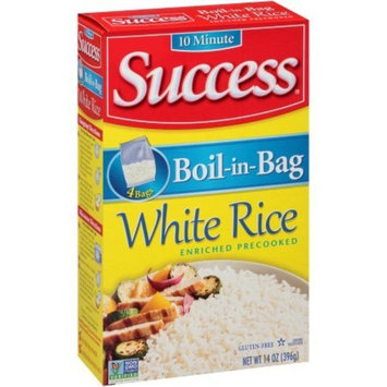 Success, Boil-In-Bag White Rice, 14 Oz (4 Boxes of 4 Count)