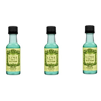 3PCS CLUBMAN LIME SEC After Shave & Cologne (Travel-Size,1.7 oz)