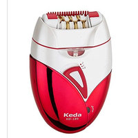 Permanent hair removal system, face and body hair removal system, FDA cleans 60 pairs of diagonal head 60 pieces of 2 in 1 electric epilator with razor/spinner and sensitive accessories Kodak KD-189 M