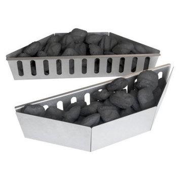 Wolf Steel Usa Inc Napoleon 67400 Stainless Steel Charcoal Basket for Napoleon Kettle