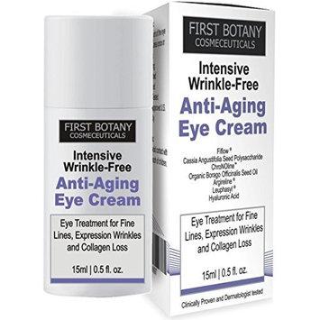 Anti aging Best Eye Cream : Eye Gel with Mediterranean Blue Algae Extract, Resistem, Chromocare, Renovage & Matrixylsynthe 6 - the best Formula 1.7 oz