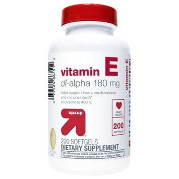 Vitamin E Softgels - 200ct - Up&Up™