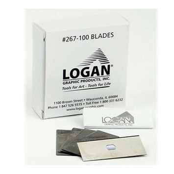 Logan L267-100 Mat Cutter Replacement Blades 100-Pack