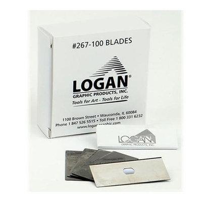 Logan L267-100 Mat Cutter Replacement Blades 100-Pack