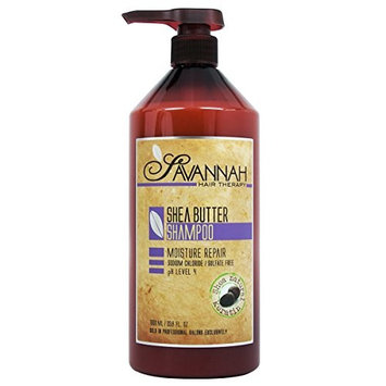 Savannah Hair Therapy Shea Butter Shampoo 33.8 fl. oz.